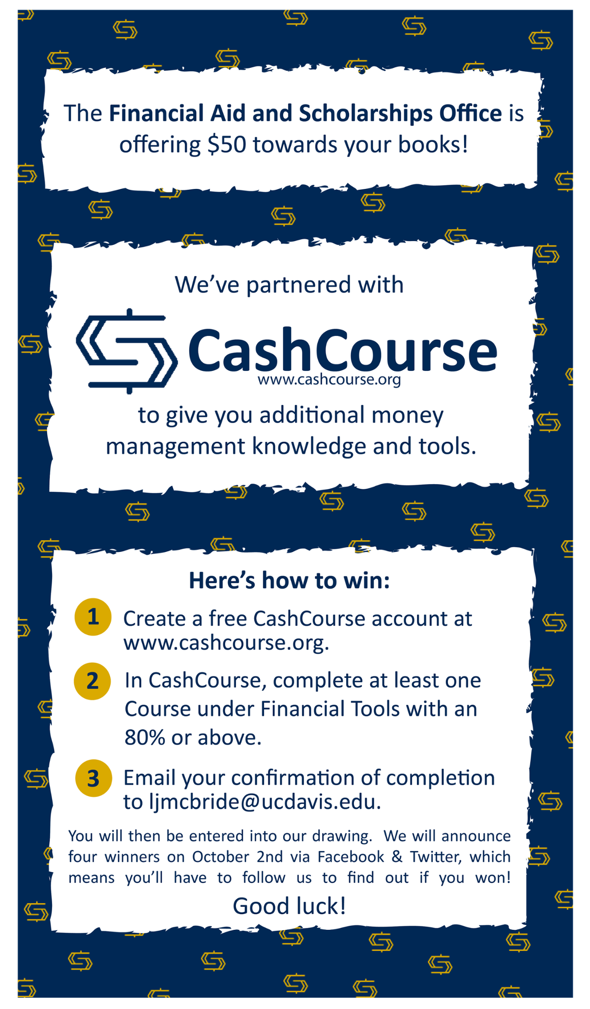 cashcourse giveaway
