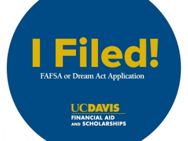 I Filed financial aid application