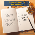 Planner for New Year's Goals